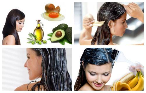 mascarilla para el cabello con aguacate