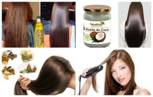 tratamiento casero para antes de planchar el cabello