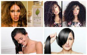 glicerina para crecer el cabello