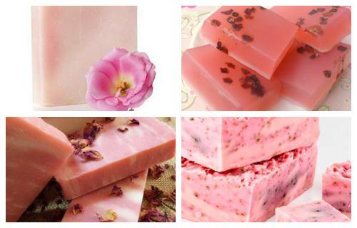 Jabón de rosas beneficios