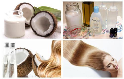 como hacer shampoo de coco casero