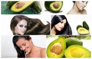 tratamiento para el cabello con aguacate para el crecimiento
