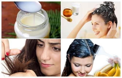 leche y huevo para el cabello
