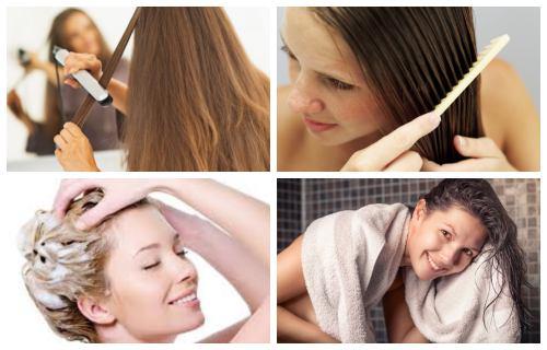 que usar antes y depués del planchar el cabello