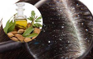 aceite de almendras para el cabello