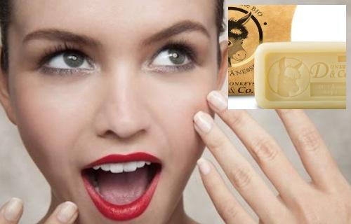 jabon de leche de burra para el acne