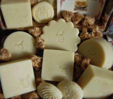jabón de leche de burra para el acné