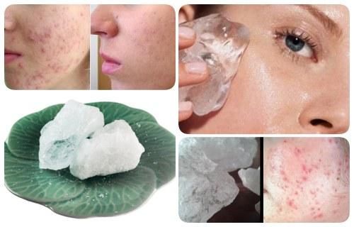beneficios de la piedra de alumbre para el rostro