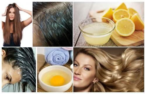 remedios caseros para cabello graso y puntas secas