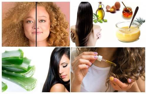 tratamiento para el cabello quemado por plancha