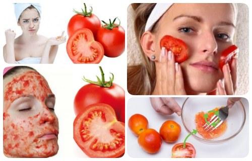 mascarilla de tomate para las manchas