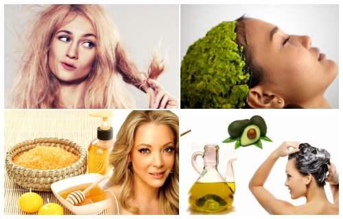 remedios caseros para el cabello seco y sin brillo