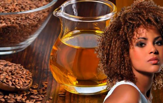beneficios de la linaza para el cabello rizado