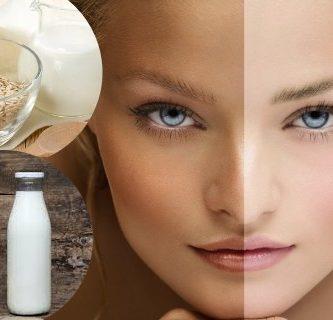 leche y limon para aclarar la piel