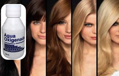 agua oxigenada cabello consecuencias