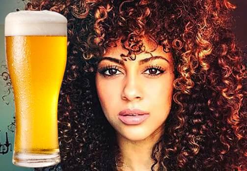 Cerveza para hacer crecer el cabello