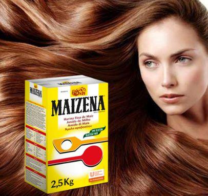 maizena para el crecimiento del cabello