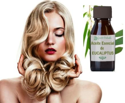 Como aplicar aceite de eucalipto en el cabello