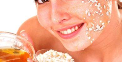 mascarilla de avena para el acne y piel grasa
