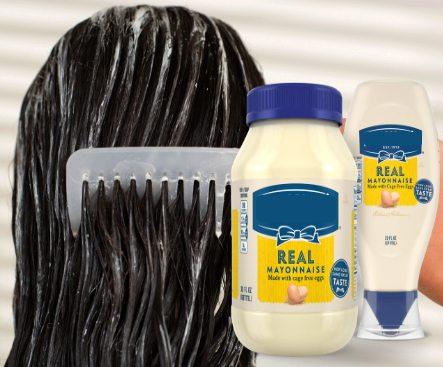 como usar mayonesa en el cabello