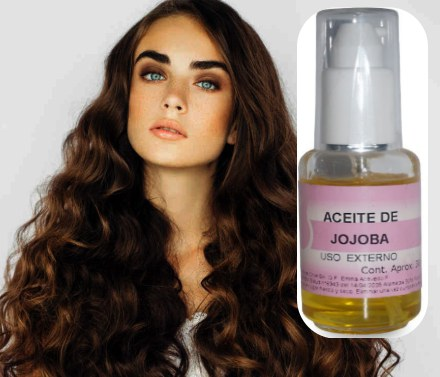 como utilizar aceite de jojoba en el cabello