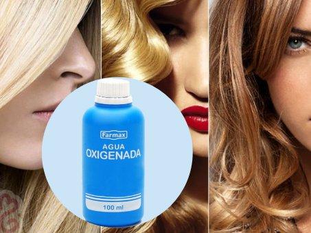 el agua oxigenada daña el cabello