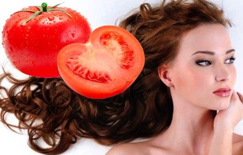 como usar el tomate en el cabello