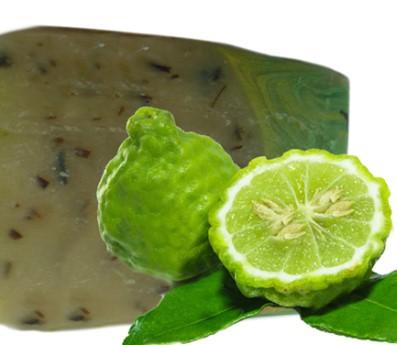 como aplicar el jabon de bergamota