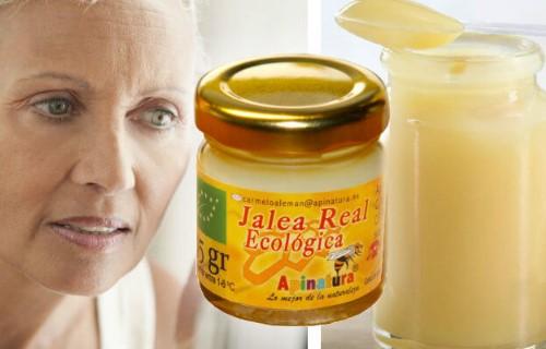 crema casera de jalea real para el rostro