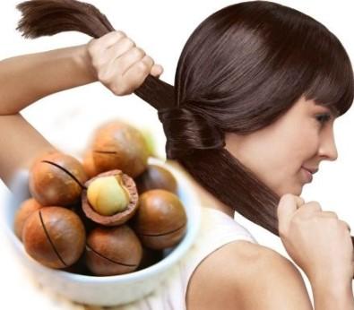 beneficios de la macadamia para el cabello
