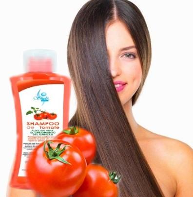 propiedades del shampoo de tomate