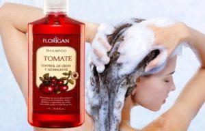 como usar shampoo de tomate