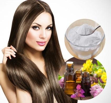 alisar el cabello de manera natural