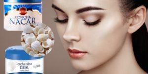 como usar concha nacar en la piel