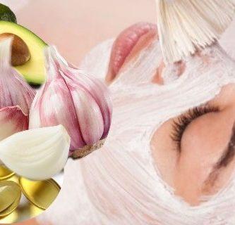mascarilla de ajo para el acné