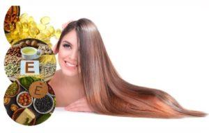 beneficios de la vitamina en el cabello