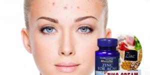 beneficios del zinc para eliminar el acné
