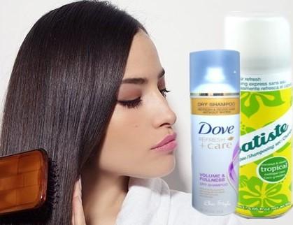 shampoo en seco para el cabello graso