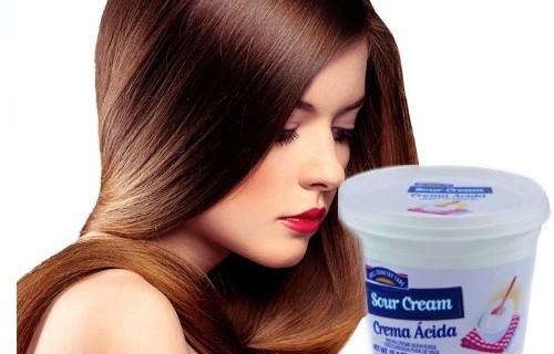 como hacer crema acida casera para el cabello