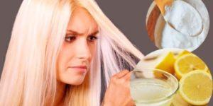 como decolorar el cabello con productos naturales