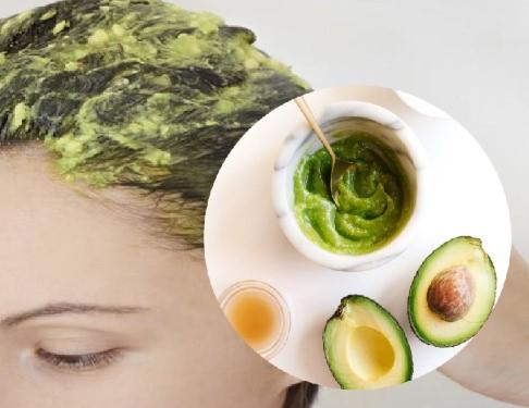como aplicar mascarilla de aguacate en el cabello