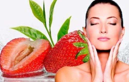 como aplicar la mascarilla de fresas