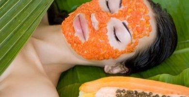 beneficios de la mascarilla de papaya