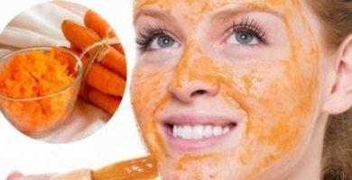 como hacer mascarilla de zanahoria