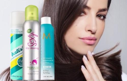 como aplicar el shampoo en seco