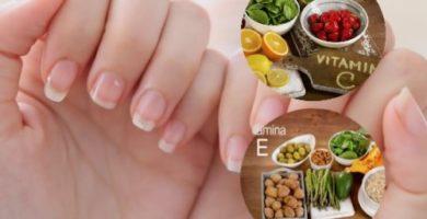 vitaminas recomendadas para las uñas