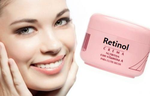 cremas retinol