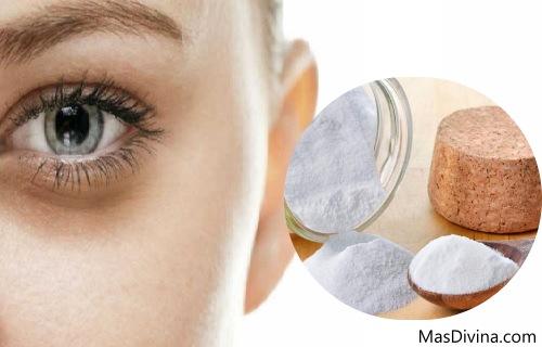 como utilizar el bicarbonato para las ojeras