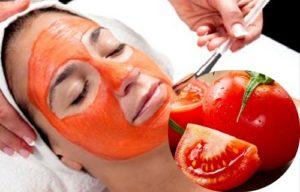 como preparar mascarilla de tomate