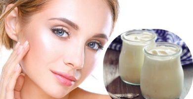 mascarilla de yogurt natural
